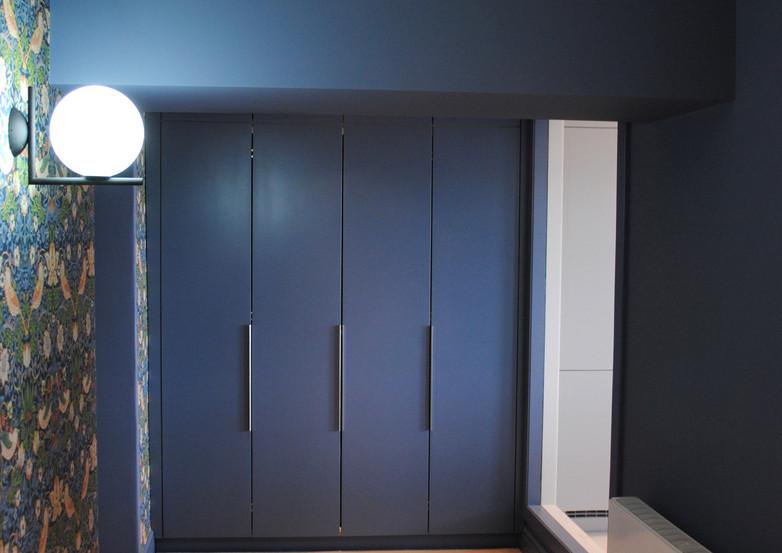 Clifton hallway bespoke storage units