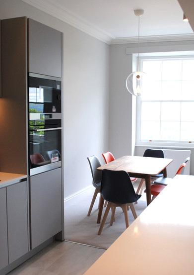 Completed kitchen in Clifton period property