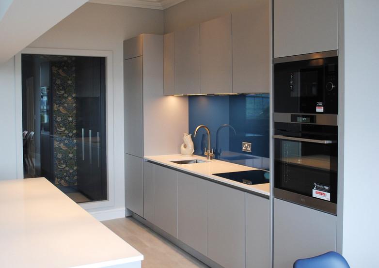Completed Bristol kitchen