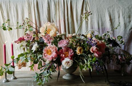 Urn arrangement - venue flowers Wildly Beautiful Flowers