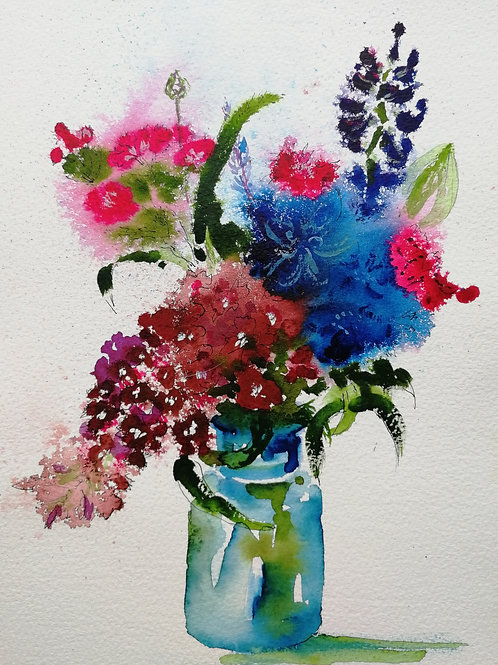 Painting in the Flower Field Saturday 15th August 2020 10 am - 1.00 pm