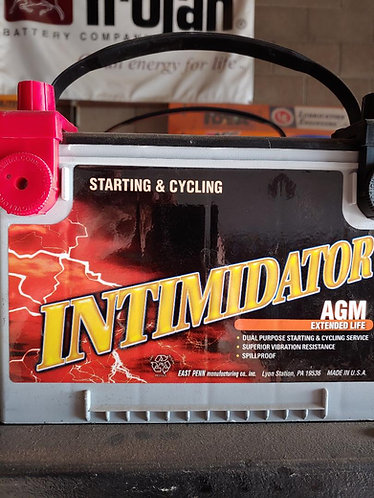 Deka intimidator AGM batteries