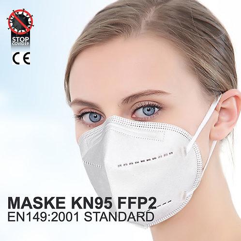 360° Atemschutzmasken Schutzklasse KN95 FFP2