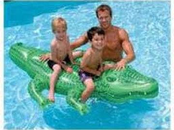 Schwimmhilfe Krokodil / CAVALCABILE COCCODRILLO 58562NP 203X114CM