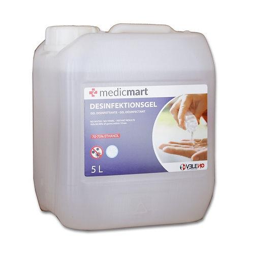 MedicMart Desinfektionsgel 5L