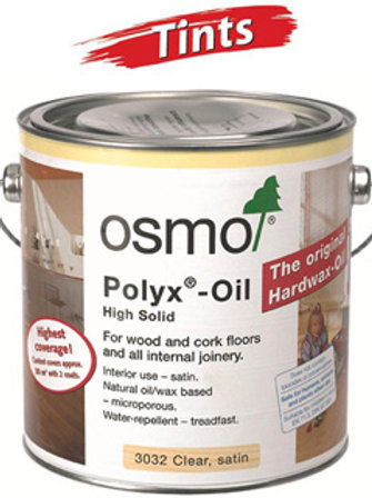 Osmo Polyx Oil Tints - 2.5 Litre