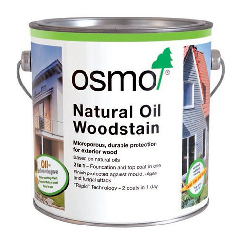 Osmo Natural Oil Woodstain - 2.5 Litre