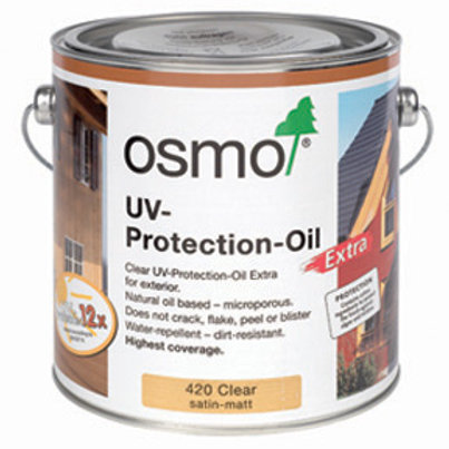 Osmo UV rated exterior oil - 750 ml