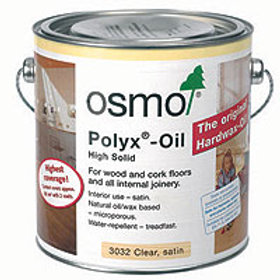 Polyx (Hardwax) Oil for floors & furniture - 2.5 Litres