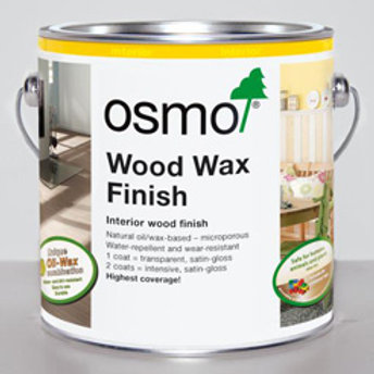 Osmo Wood Wax Finish - 2.5 Litre