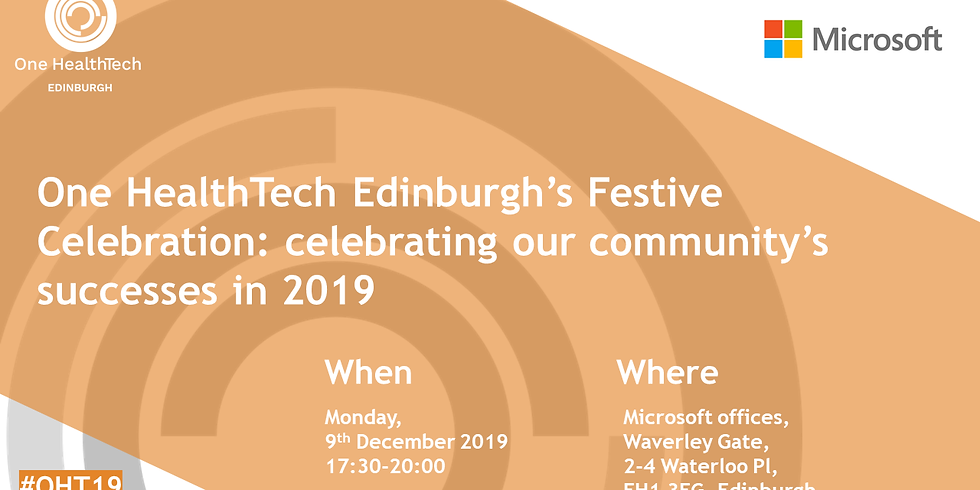 One HealthTech Edinburgh's Festive Celebration