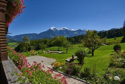 Panorama Berchtesgadener Alpen Alpenhotel Hundsreitlehen