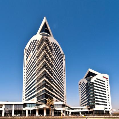 Hilton & Hampton Hotel / Bursa