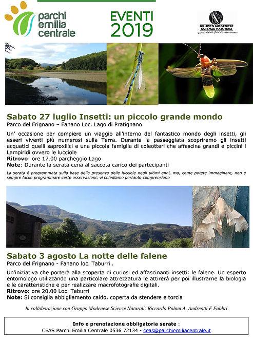 Escursioni Parchi Emilia centrale - GMSN