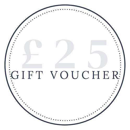 Gift Voucher - £25 (20% extra for free)