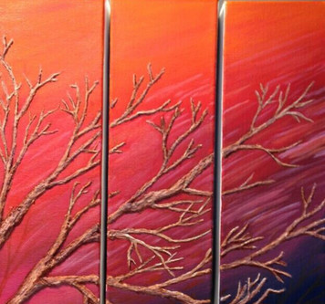 Fall Triptych