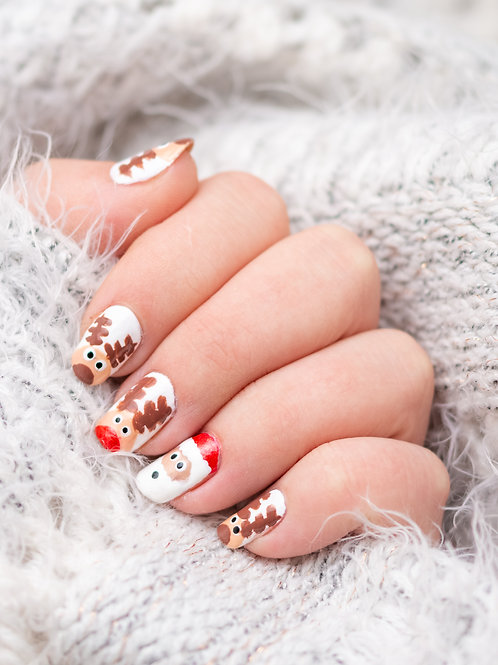 Christmas Gel Polish Nail Art Workshop - 1st December 2020