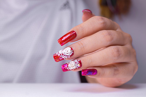 Acrylic Nail Art Workshop - 8th February 2021