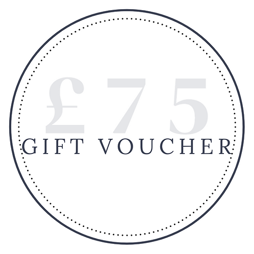 Gift Voucher - £75 (20% extra for free)