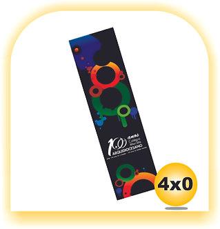 Marcador de Páginas VERNIZ TOTAL 4x0 500 Unid.