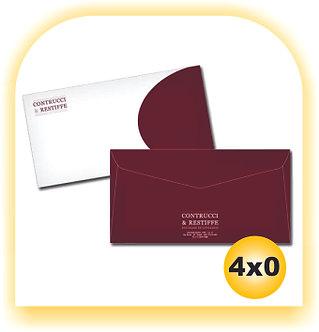 Envelope Personalizado APERGAMINHADO CARTA  4x0 500 unid