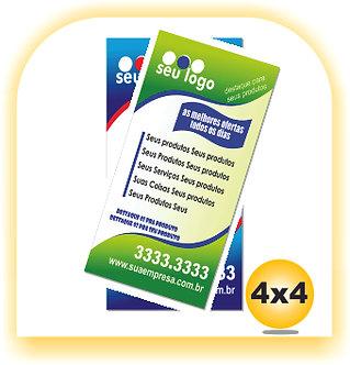 Panfleto 210x100 4x4 2.500 unid