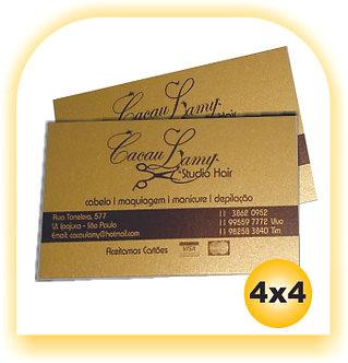 Cartão Gold Master 4x4 100 unid