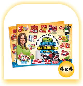 Encarte Supermercado (A3)  30x42 1000 unid  4x4