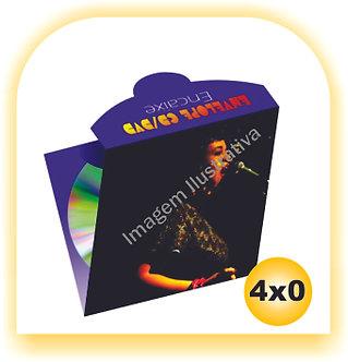 Envelope CD e DvD 300gr 4x4 500 unid