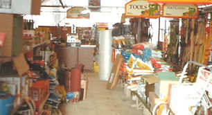 Inside Waresley garden centre in the early 1980s
