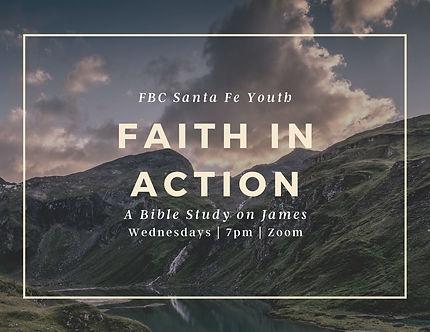 FBC Youth Faith in Action Study on James