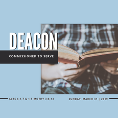 Deacon: Commissioned to Serve