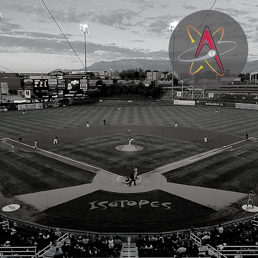 ABQ Isotopes Independence Day Fireworks Extravaganza Baseball Game