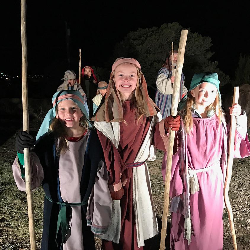 Living Nativity Rehearsal