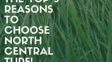 The Top 5 Reasons to Choose North Central Turf!
