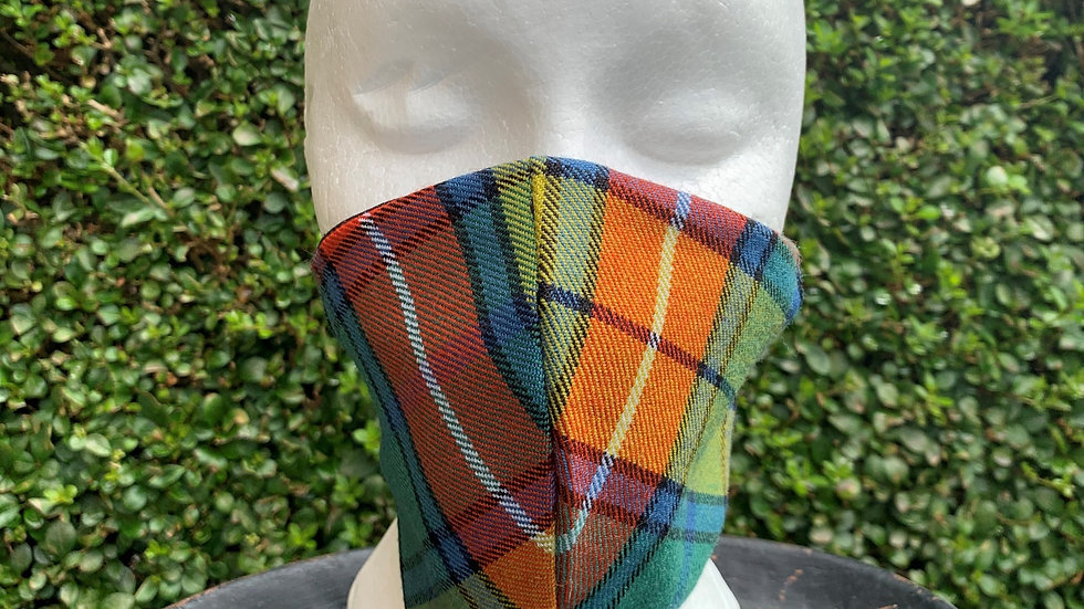 BUCHANAN TARTAN FACE MASK