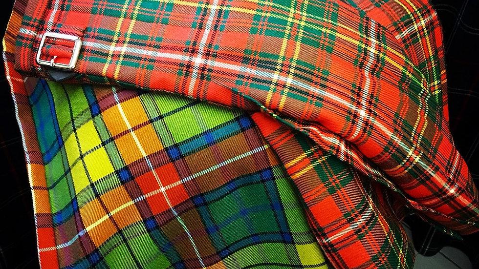 8 yard Kilt in a wide range of tartans