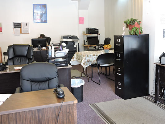 Inside the Tenant Support Proram office
