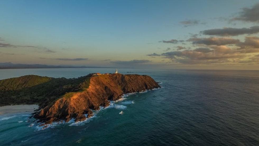 Byron Bay Aerial Film