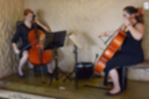 Lindzi Wiggins, Frances Levenderis, Two Cellos, Cello Duets, String Things, WeddingHub Expo 2016