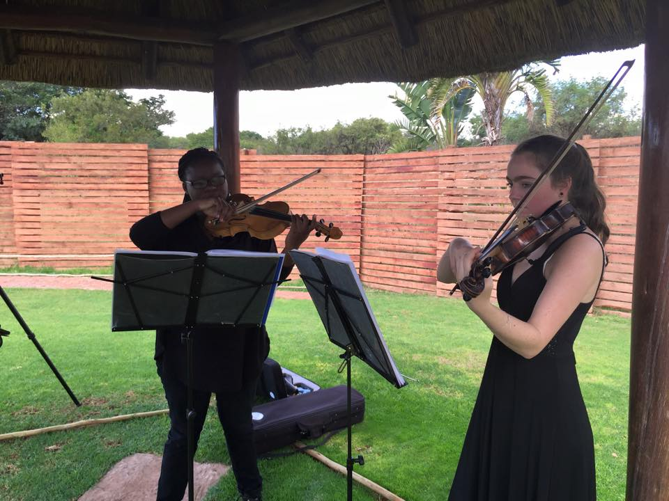 Violin Duo 25 April 2015