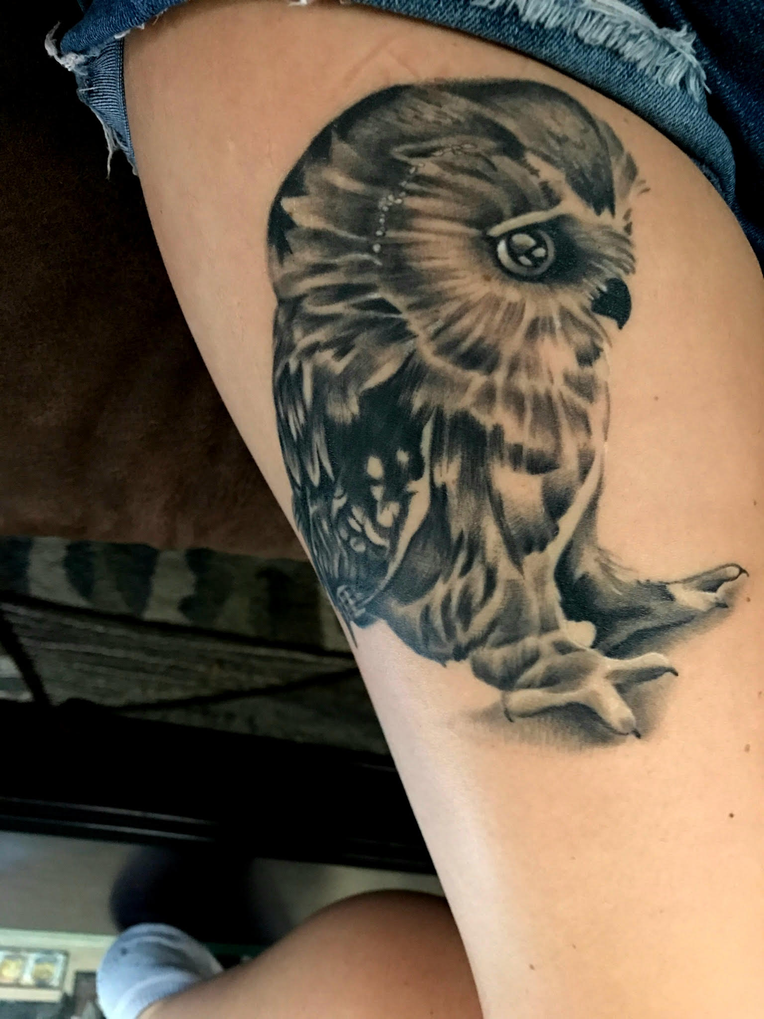 Owl Tattoo by Eric