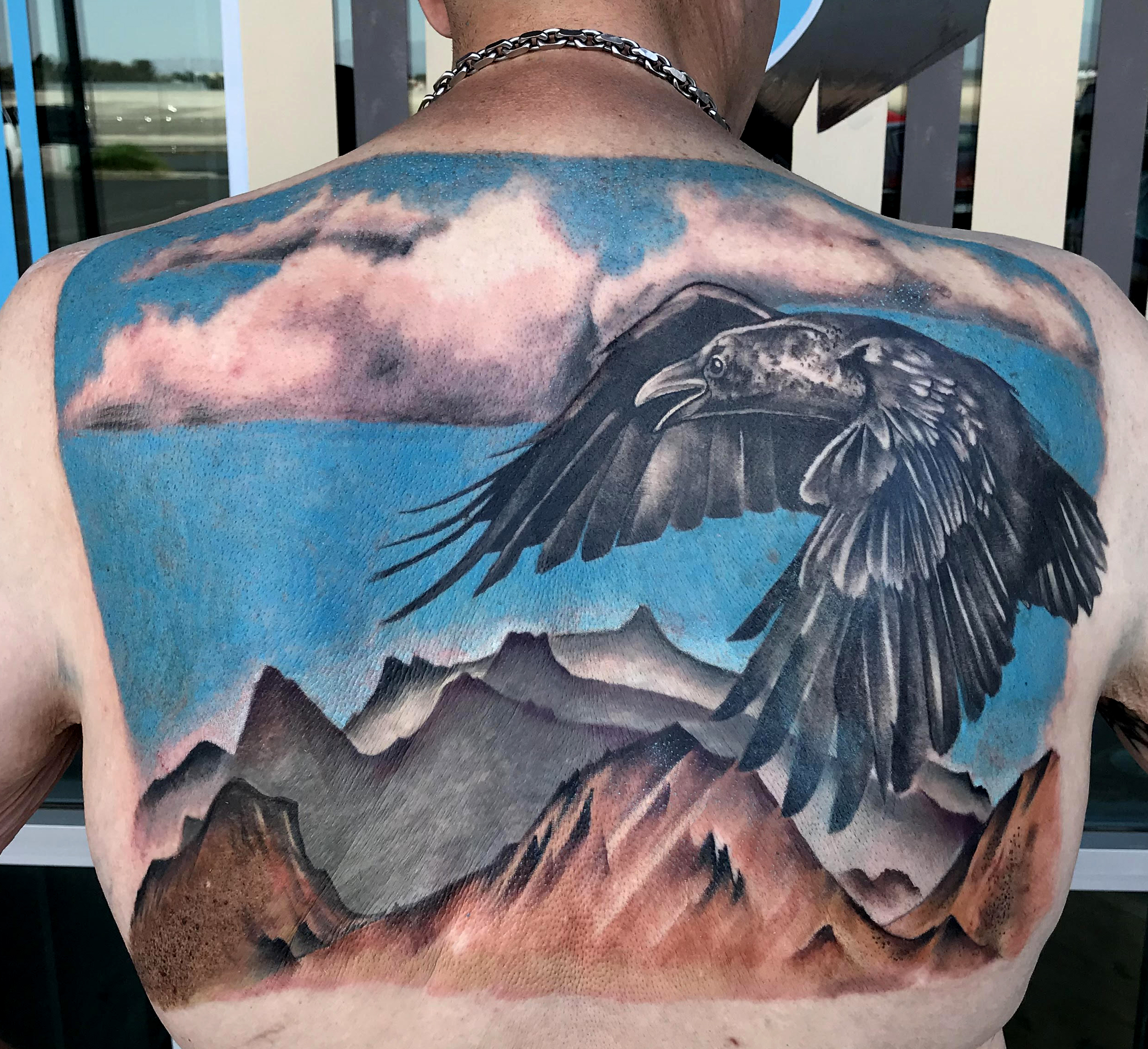 Coverup Tattoo by Krystof