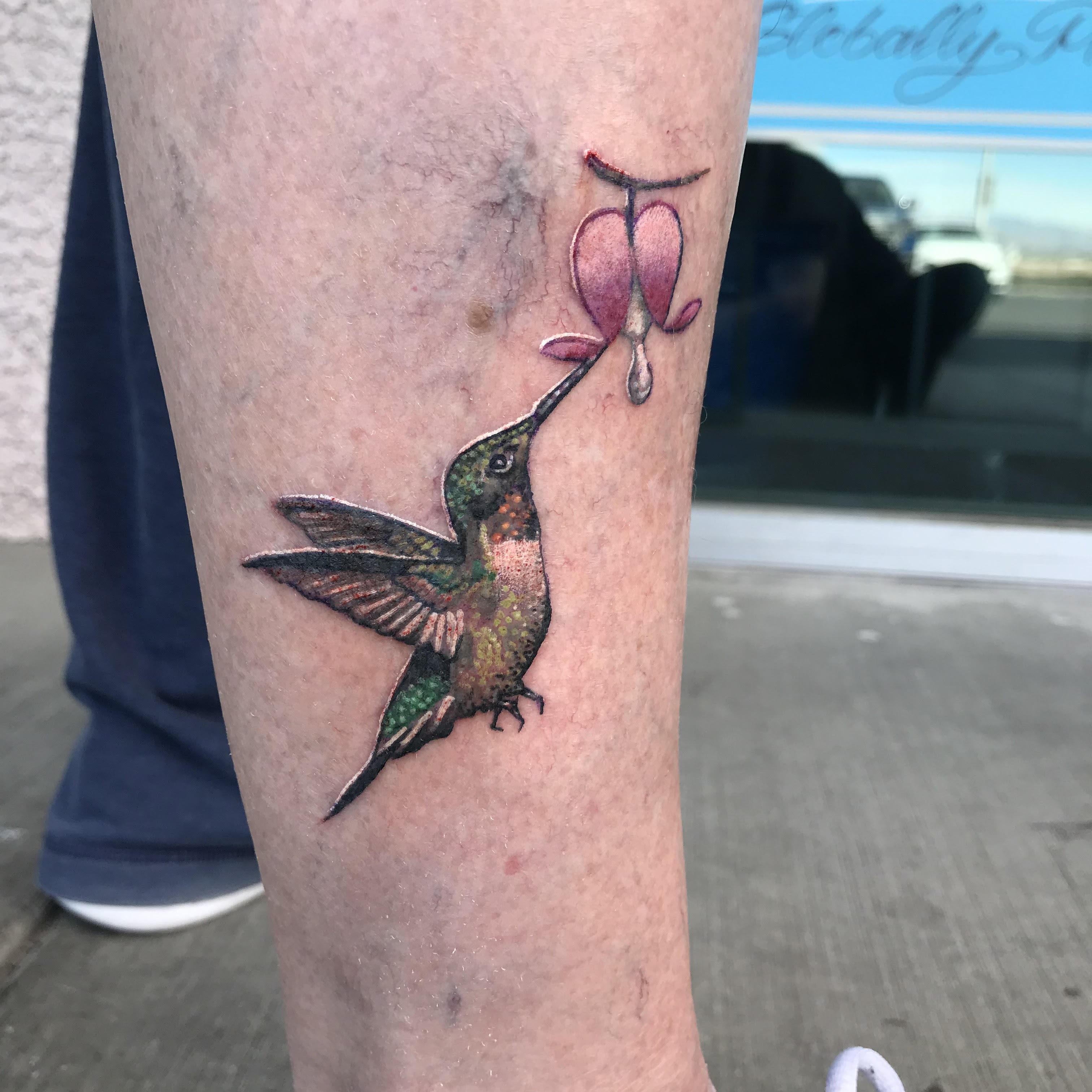 Hummingbird Tattoo by Krystof
