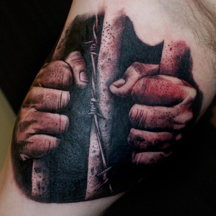 Behind Bars Tattoo