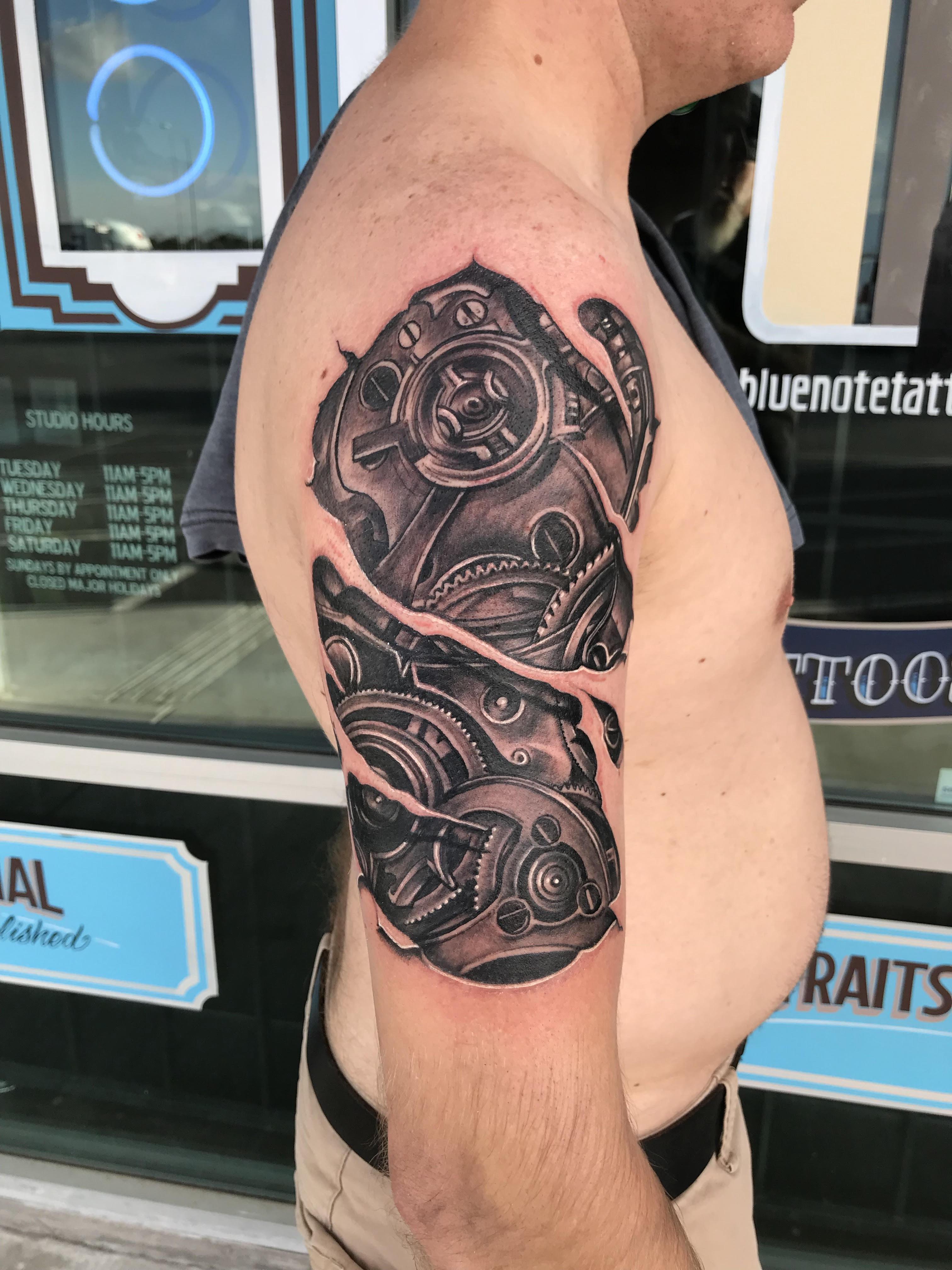 Biomechanical Tattoo byKrystof