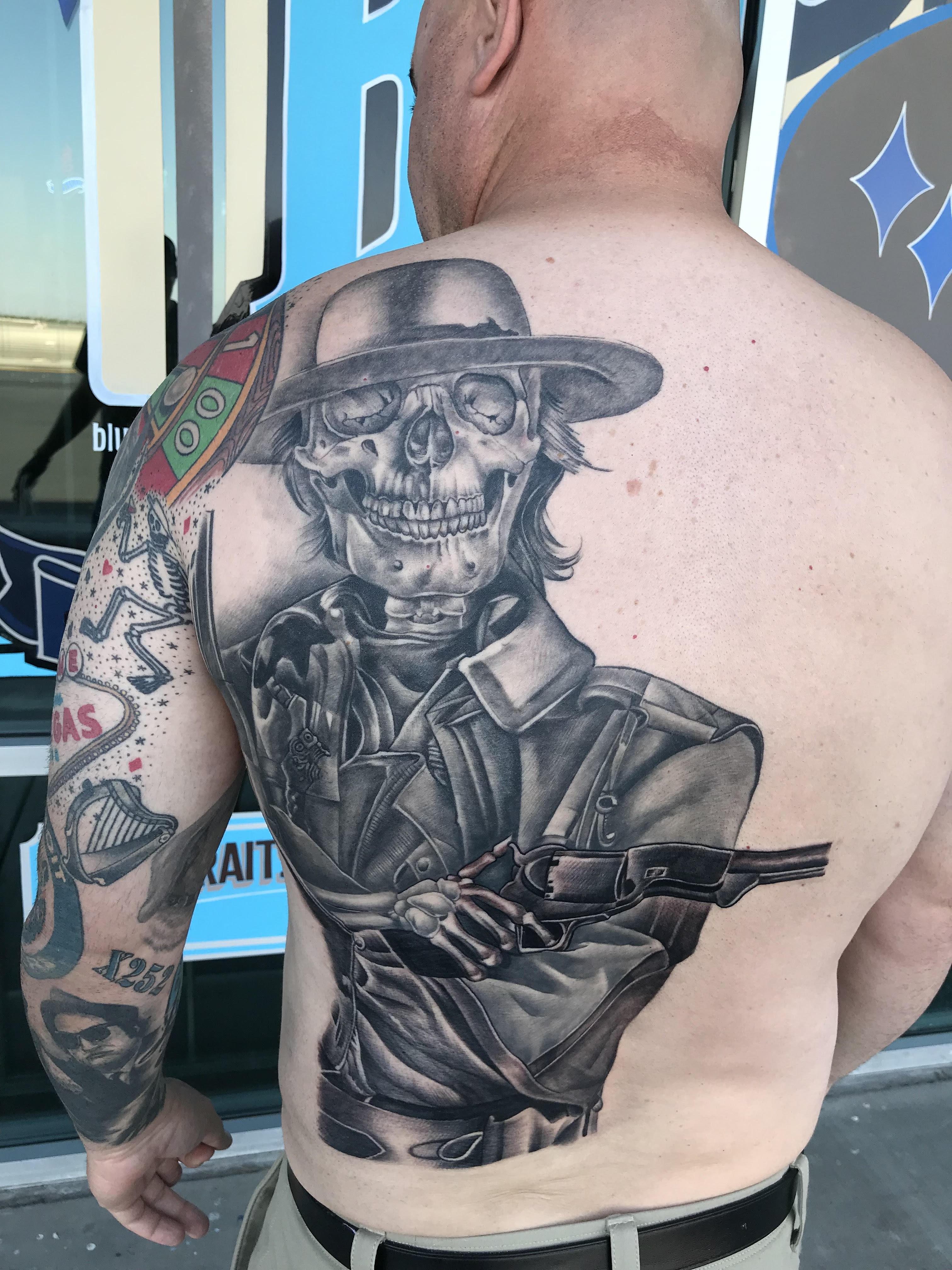 Deadwood tattoo by Krystof