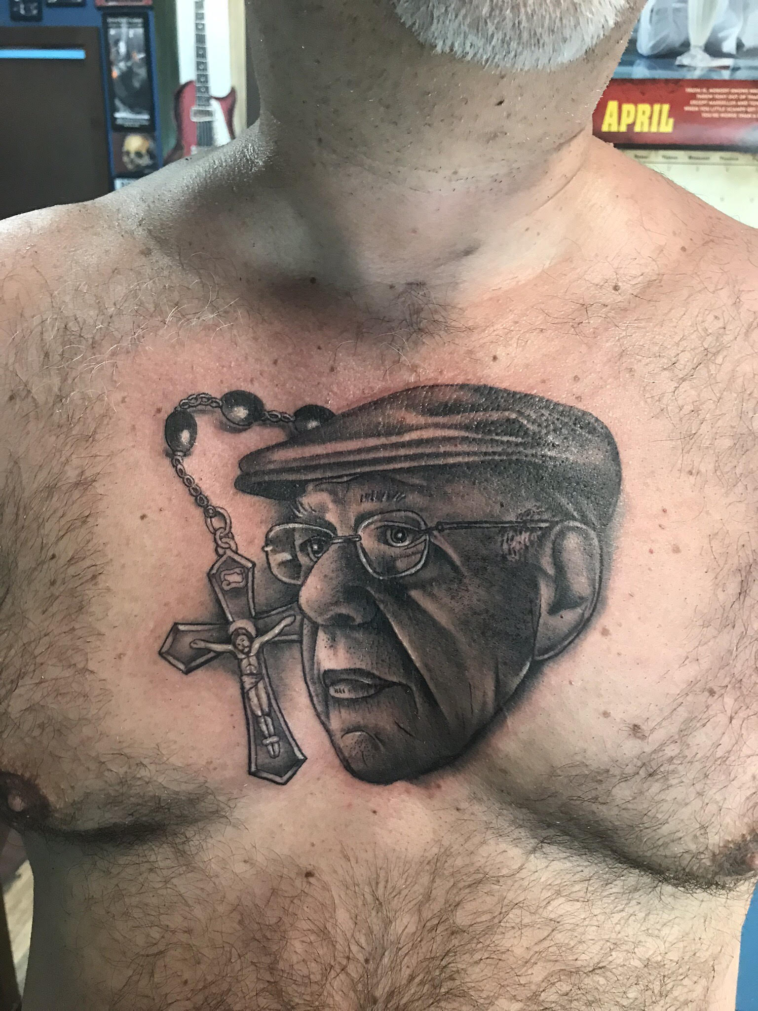 Portrait Tattoo by Krystof