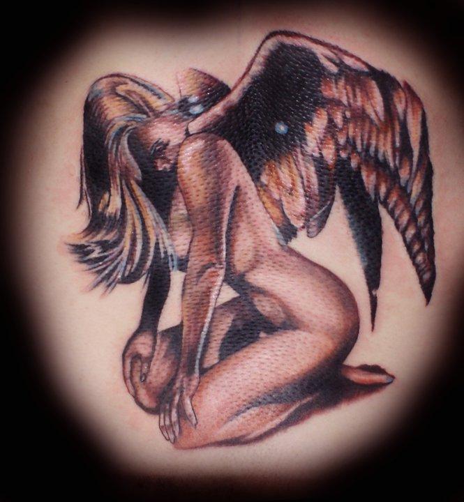 Angel Tattoo by Krystof