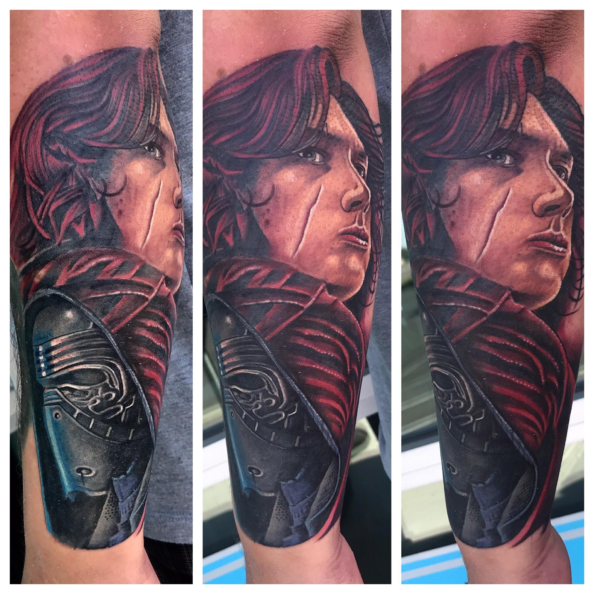 Kylo Ren Tattoo by Krystof